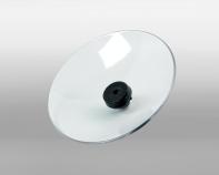 Schutzteller transparent für HBP mit 8mm-Düsen